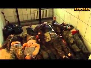 Донецк морг завален трупами сепаратистов'ДНР'