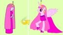 Персонажи Время Приключений в стиле Май Литл Пони