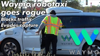 Waymo Self Driving Taxi Fumbles In Construction Zone, Blocks Traffic | JJRicks Rides With Waymo #54