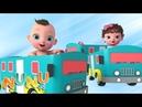 Wheels On The Bus Hindi | बस का चक्का घूमे गोल | NuNu Tv- Hindi Nursery Rhymes