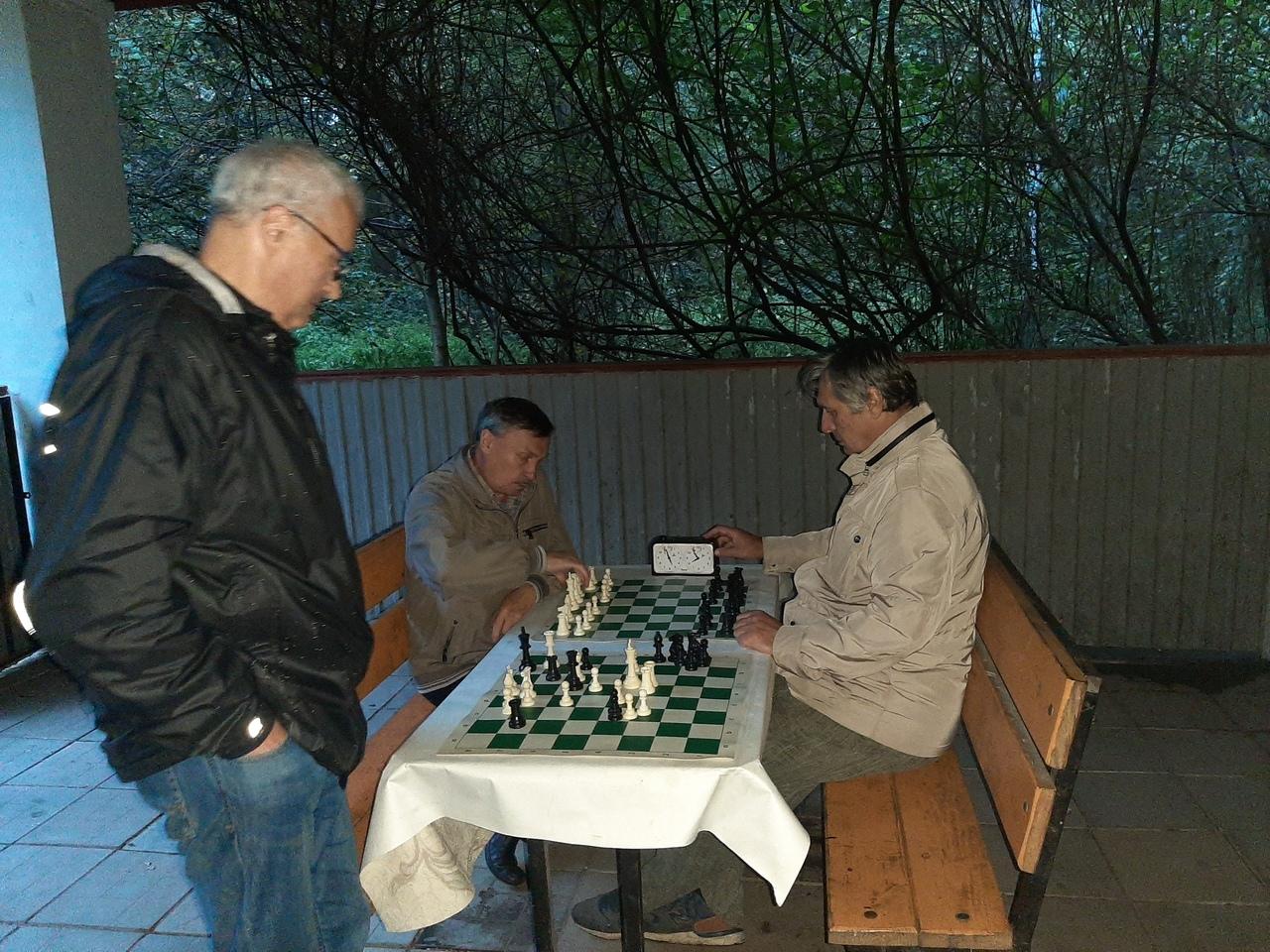 Шахматный турнир - Московское долголетие - клуб Сфера
