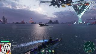 World of Warships. Космические корабли и монстры. Большая охота