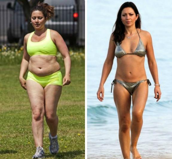 Кто похудел или поправился из наших звезд