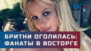 Фанаты в восторге. Бритни Спирс оголила грудь в знак протеста