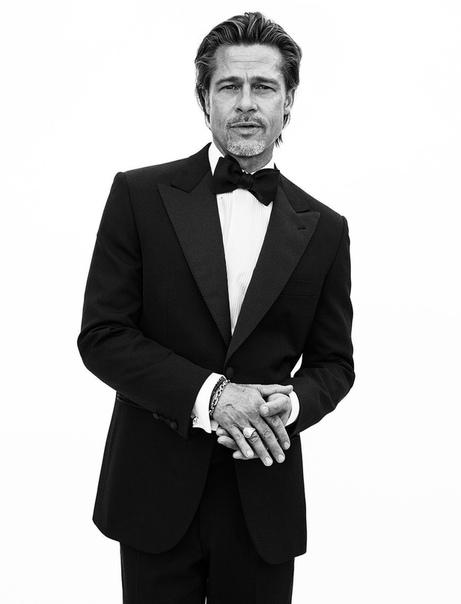 Мощнейший Брэд Питт в рекламной кампании итальянского дома моды Brioni Микаэл Янссон
