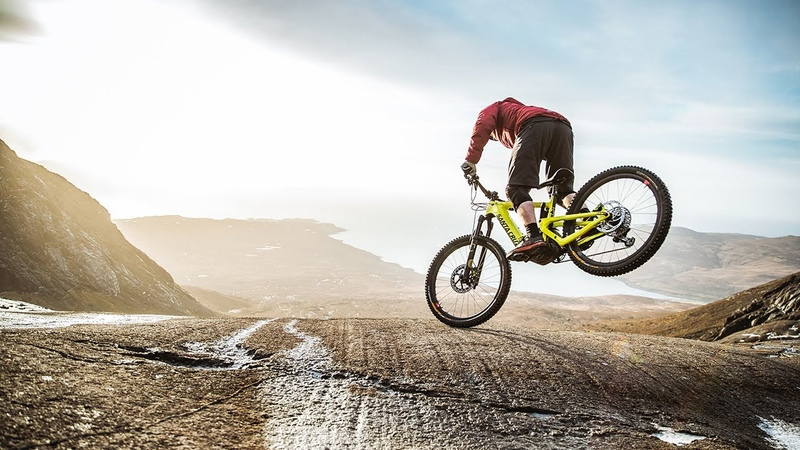 What The Heck Danny Macaskill rides the new Santa Cruz ebike