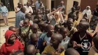 Christina Aguilera in Rwanda - World Hunger Relief 2013