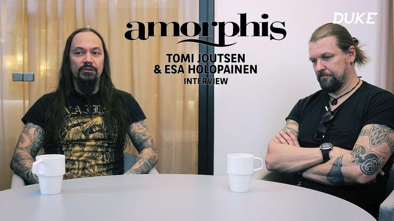 Amorphis - Interview Tomi Joutsen Esa Holopainen - Paris 2018 - Duke TV [FR-DE-ES-IT-RU Subs]