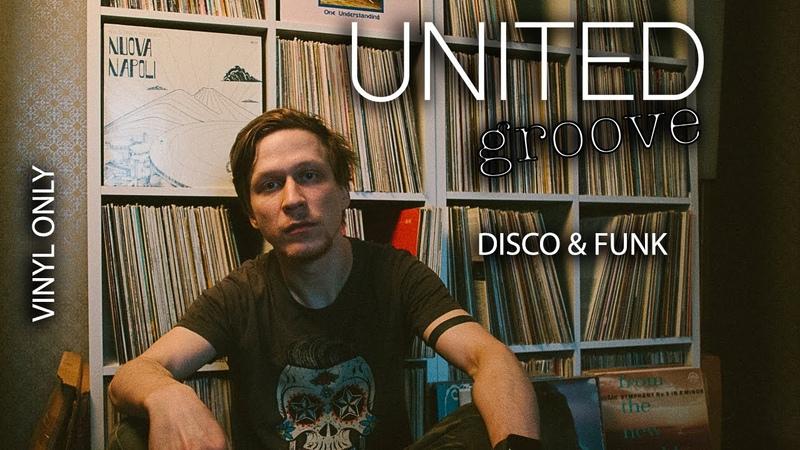United Groove STAYHOME 002 w Zalyotov VINYL CLASSIC DISCO FUNK MUSIC