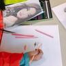 """예인미술학원🌿 on Instagram: """"고학년 애기들 전시 준비중이에요 :) . . . #예인미술#임지쌤❣️#관찰화…"""""""