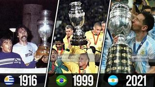 ⚽ Все Победители Кубка Америки (Копа Америка) 1916 - 2021 ⚽