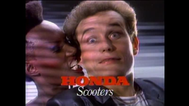 2) Honda Scooters - Adam Ant Grace Jones (HQ video) 1982