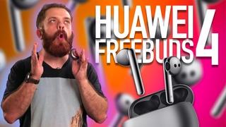 Обзор Huawei Freebuds 4. ANC для тех кто ненавидит затычки!