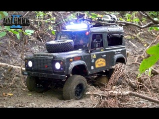 RC ADVENTURES - Basic Scale 4x4 Truck Off-Road Training - RC4WD Gelnde II Defender D90 Rover