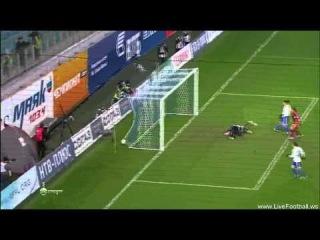 Динамо М — Рубин    0-1 гол Александр Рязанцев.. Красавец гол))