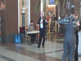 Вокзал в Новосибирске и Талисман =)