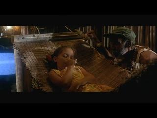 Жан Поль Бельмондо Ариэль Домбаль в фильме Филипп Де Броkа Амазония 2000 год