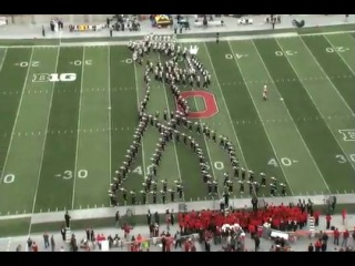 Ohio State Band Moon Walk