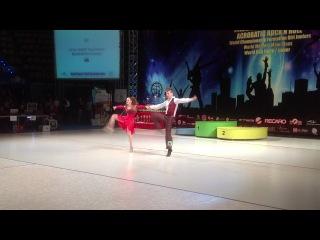 Валерия Морёнова и Вячеслав Столяров 6 место Кубок Мира Польша