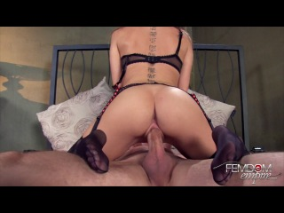 Femdom Empire Princess Riley Slave Cock And Live Dildo - Face - Riley Reid
