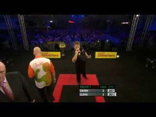 Jamie Caven vs Colin Lloyd (Players Championship Finals 2013 / Round 1)