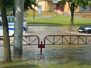 После дождя на ул.Брикеля 3