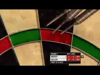Peter Wright vs Joe Cullen (PDC World Darts Championship 2014 / Round 1)