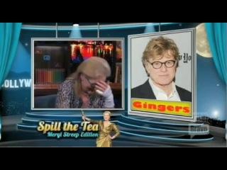 WWHL Meryl Streep Part 3