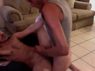 Surfer dude blows a load inside a really cute young cub. nice!