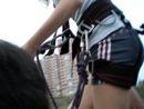 мой первый прыжок с дамбы
