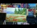 Отзыв с урока живописи маслом для начинающих как нарисовать пейзаж