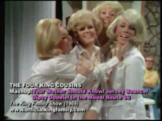 Four King Cousins (Tina & Cathy Cole, Candy & Carolyn) sing Your Mother Should Know 1969