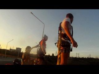 """Прыжки """"3 WAY"""" (Запорожье, Арочный мост) 2 сентября"""