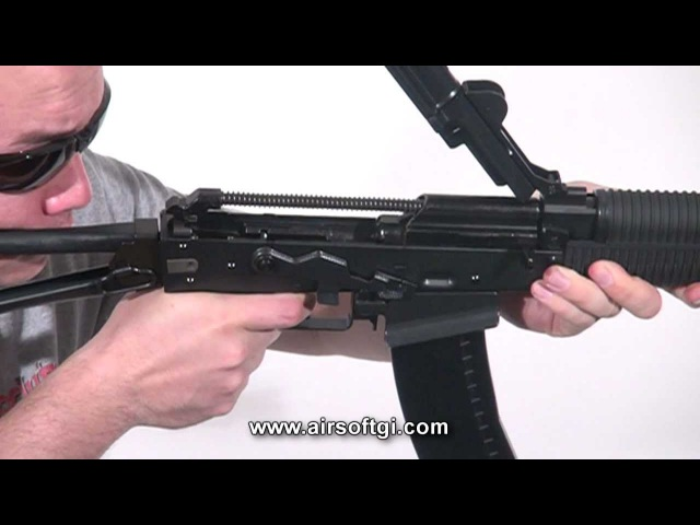Airsoft GI - WE AK74UN Gas Blowback Full Metal Close Quarters Combat Airsoft Gun