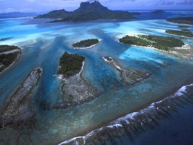 Бора Бора Жемчужина Тихого океана