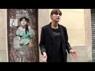 Magic stencils give life to stencil graffiti
