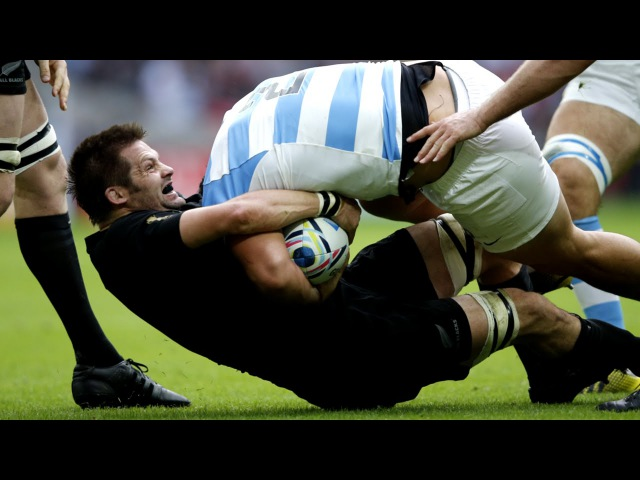 Richie McCaw's tackling masterclass against Argentina