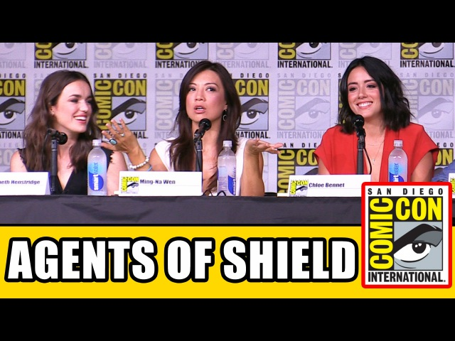 AGENTS OF SHIELD Comic Con 2016 Panel Highlights Clark Gregg Ming Na Wen Chloe Bennet Season 4