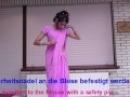 Karneval/Fasching Kostüm / Halloween tutorial: Sari anziehen/How to wear a saree