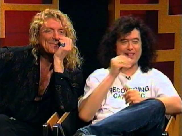 Jimmy Page Robert Plant Denton Show 1994 Australia