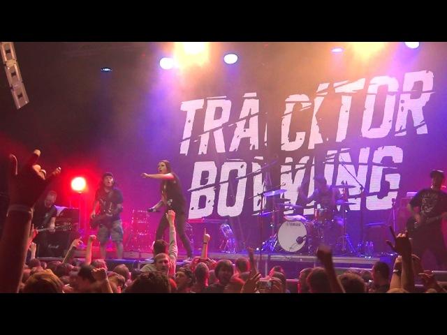 Tracktor Bowling Шаги по стеклу @ Life Energy RED Москва 11 03 2017