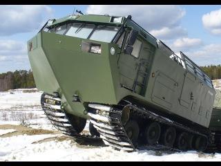 Северный монстр по болотам. Вездеход ДТ-30П Витязь (Мега Подборка)