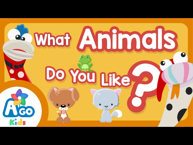 What Animals Do You Like Animal Fruit and Colors Song BINGOBONGO Learning