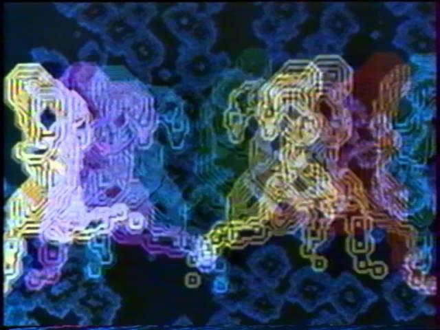 Video U S A 2 des artistes et des ordinateurs Catherine Ikam Adrian Maben 1979