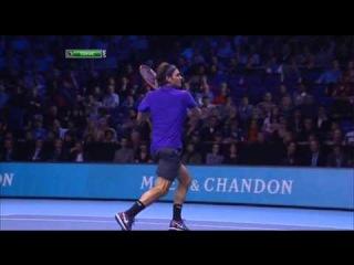Barclays ATP World Tour Finals 2012. Полуфинал. Роджер Федерер - Энди Маррей