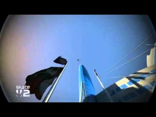 Game Fails: Skate 2 New trick: Kick flip to a frontside Impalement