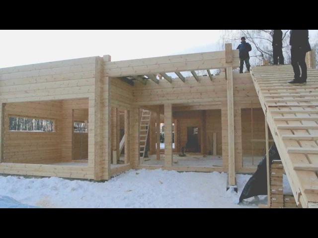 Финский клееный брус часть 2 MAKI FINNLAMELLI KONTIO DBSG ARCHPOLE