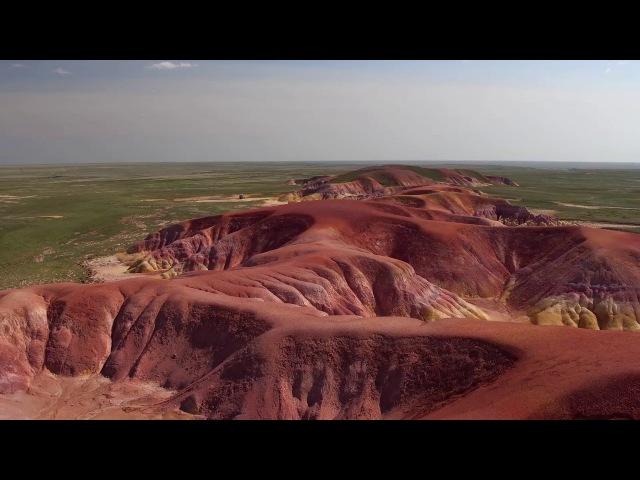Ұлытау тау сілемдері.