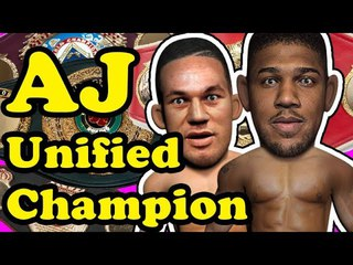 Anthony Joshua the Unified Heavyweight Champion - AJ vs Parker Highlight