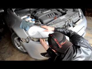 Volkswagen Golf 6 как снять фару